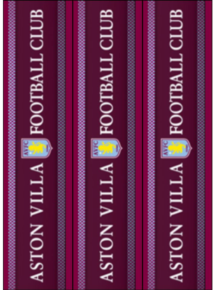 Aston Villa Cake Ribbon