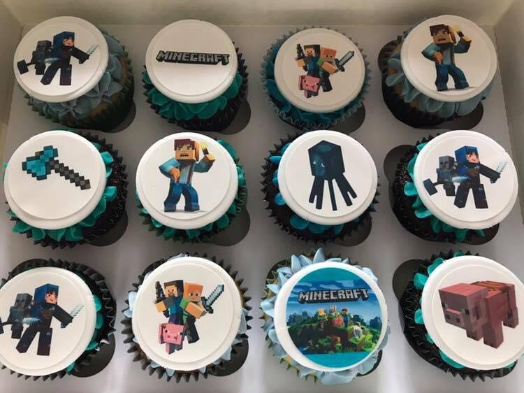 Minecraft Cupcakes Topcake Ireland