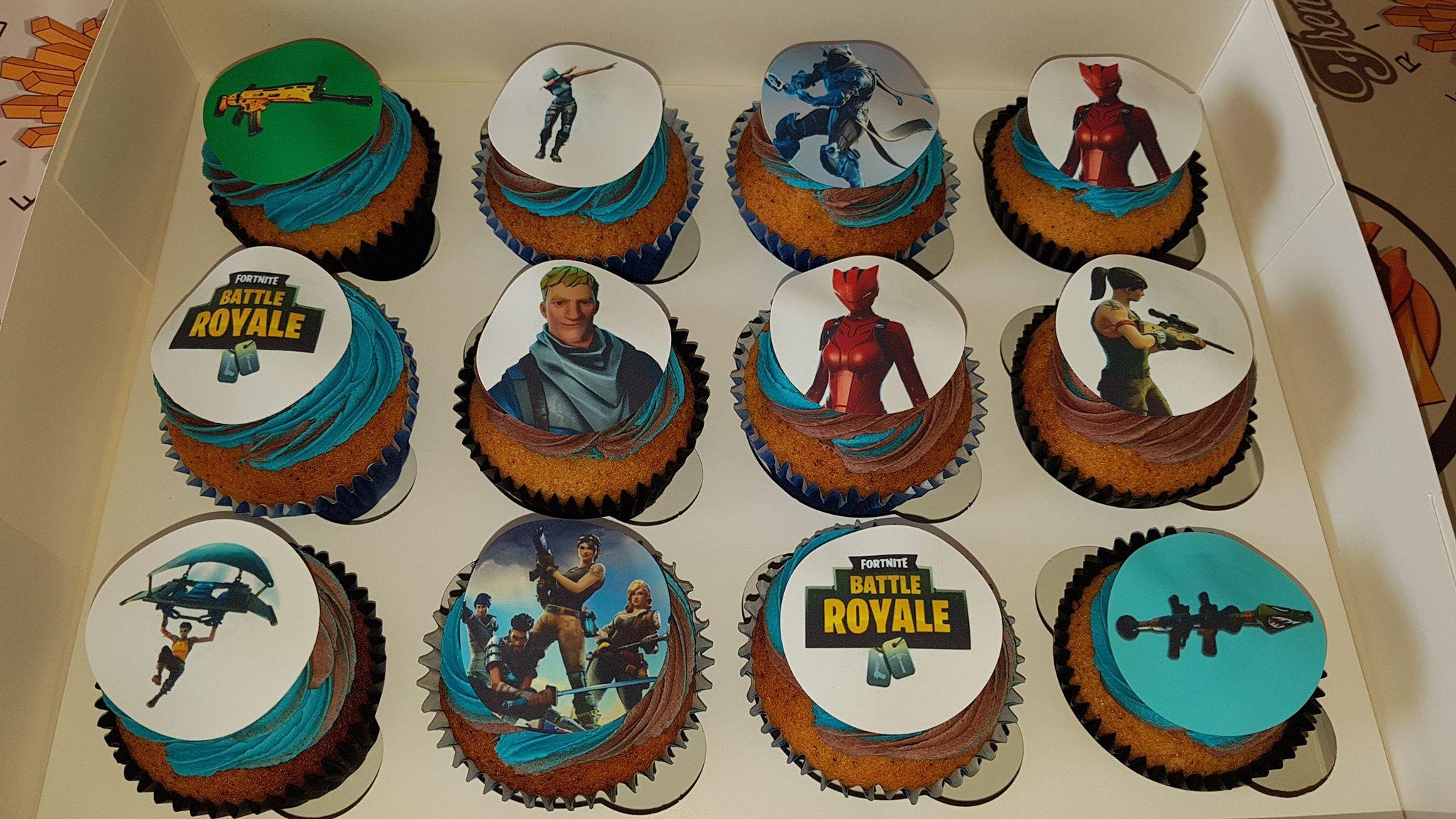 Fortnite Battle Royale Cupcakes Sheet 1 Topcake Ireland
