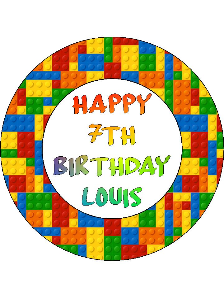 Astonishing Lego Cake Topper Topcake Ireland Funny Birthday Cards Online Elaedamsfinfo