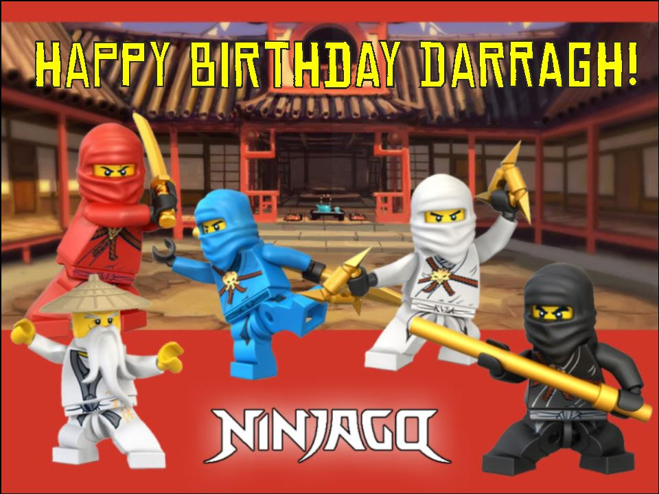 Lego Ninjago Cake Topper 2